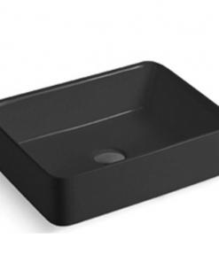 Chậu lavabo đặt bàn màu đen MKC-342